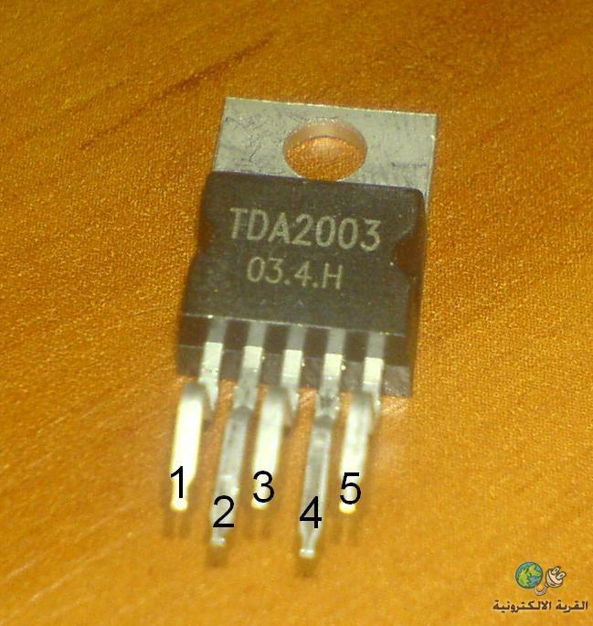 Мостовой усилитель на TDA2003 12Вт